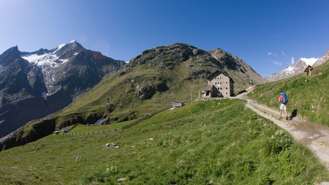 OD Tagestouren in Vent Ötztal Martin Busch Hütte