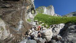 OD Tal der 1000 Wasserfälle - Wallis