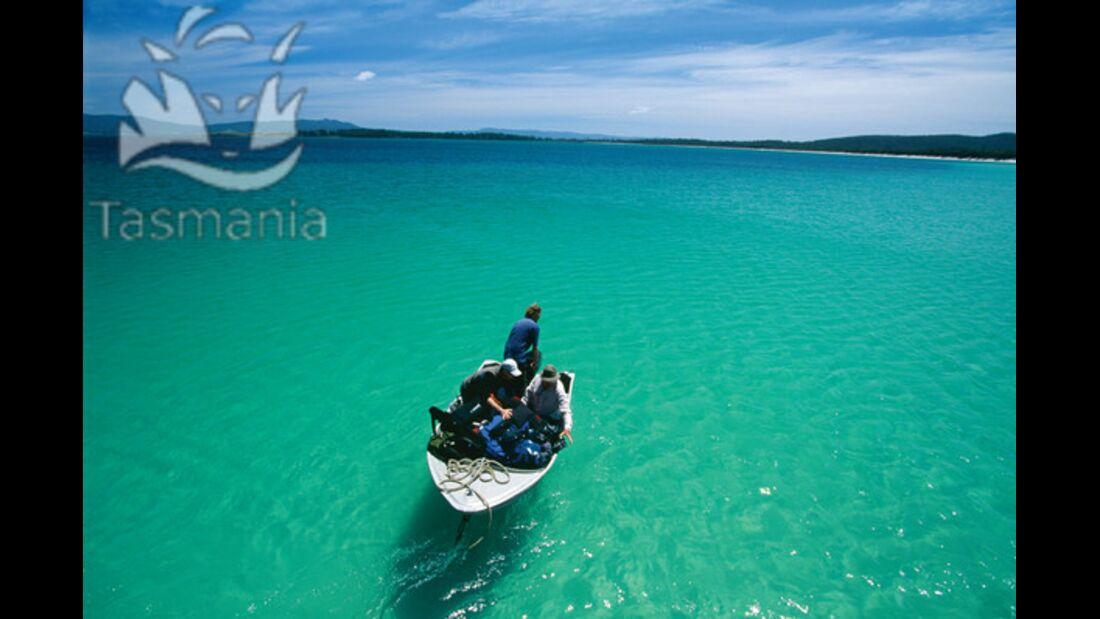 OD Tasmanien Fischen