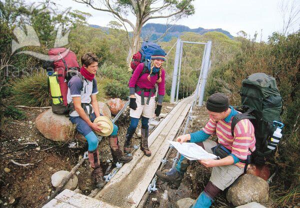 OD Tasmanien Trekking