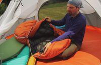 OD Test Schlafsäcke Schlafsack Zelten Camping Biwak
