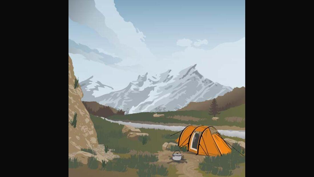 OD Tipps und Tricks Lagerleben Zelt