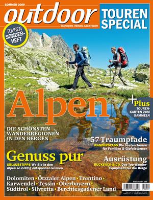 OD Titel Sonderheft Tourenspezial Alpen