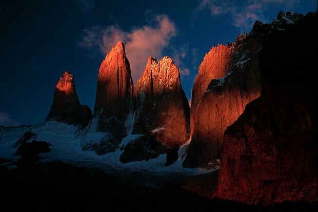 OD Torres del Paine Nationalpark Patagonien