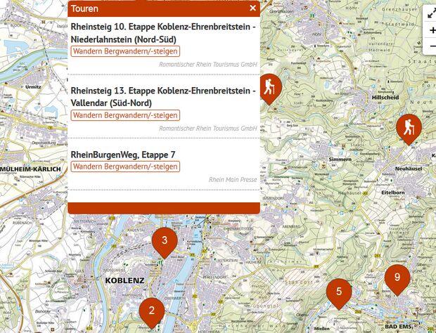 OD Touren Special Deutschland Koblenz