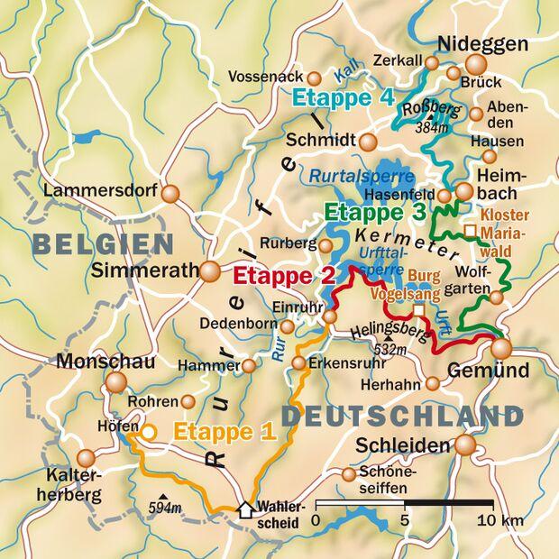 OD Trek Eifel Karte