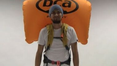 OD Video Lawinen-Airbag-Systeme Rucksäcke im Test 2014 BCA Float System