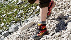 OD Wandern, Klettersteiggehen, Bergsteigen, Kraxeln und Alpintrekking bergstiefeltest 2012 Schuh