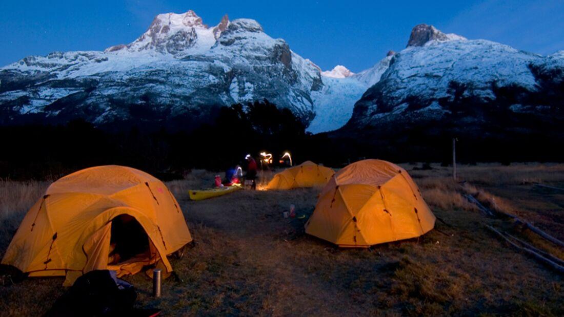 OD Wenger Patagonian Expedition Race - Zeltnacht