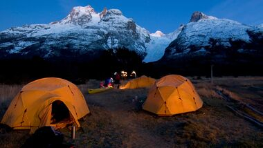 OD Wenger Patagonian Expedition Race - Zeltnacht