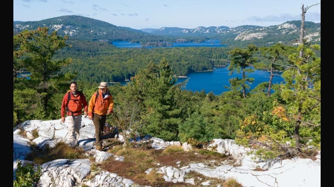 OD Wildnistouren in Ontario - Kanadas Killarney Provincial Park