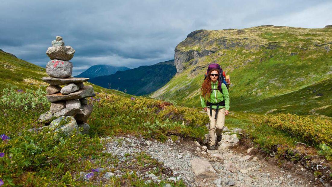 OD Zehn Traumtouren für Fernwanderer Alpen Weitwandern Alpencross
