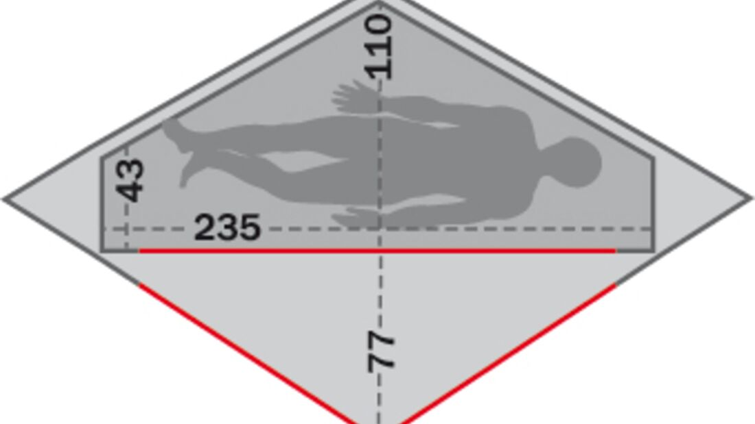OD Zelt Exped Vela 1 Extreme