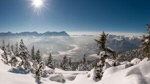 OD Zugspitze Wank Schnee