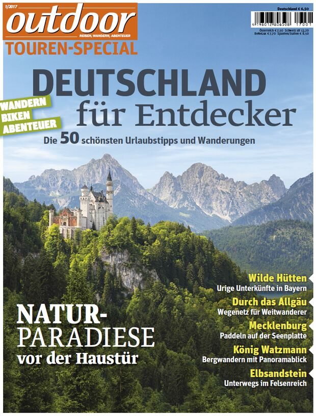 OD outdoor Touren-Special 0117 Sonderheft Deutschland