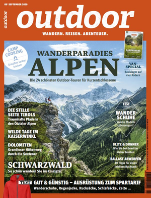 OUTDOOR Ausgabe 09/2020 - Ort: Allgäu