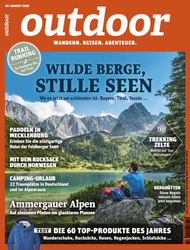 OUTDOOR-Cover 08/20: Seebensee, Tirol