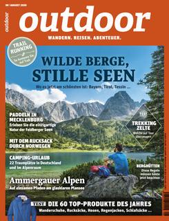 OUTDOOR-Cover 08/20: Seebensee, Tirol