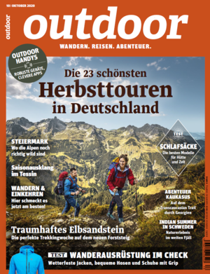 OUTDOOR-Heft 10/2020