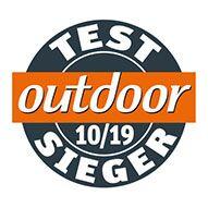 OUTDOOR Testsieger Logo
