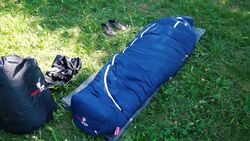 OUTDOOR Unboxing: Grüezi Bag Downwool Ice Schlafsack