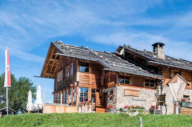 Od 2017 Kreuzwiesenalm Hütte Südtirol