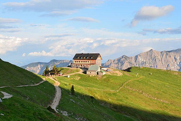 Od 2017 Rotwandhaus, Schlierseer Berge Berghütte