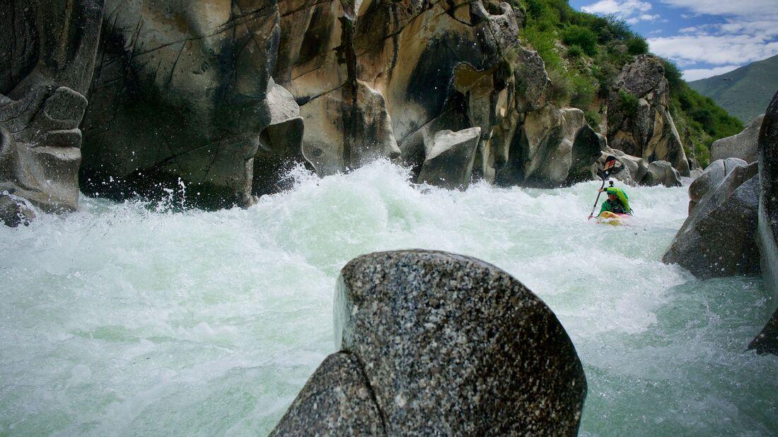 Olaf Obsommer Abenteuer Kajak, Tibet Live-Stream