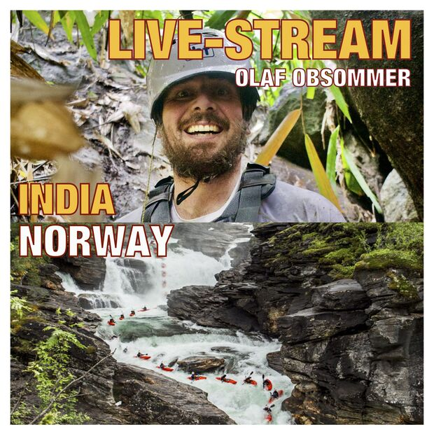 Olaf Obsommer - Kajak-Abenteuer - Livestream