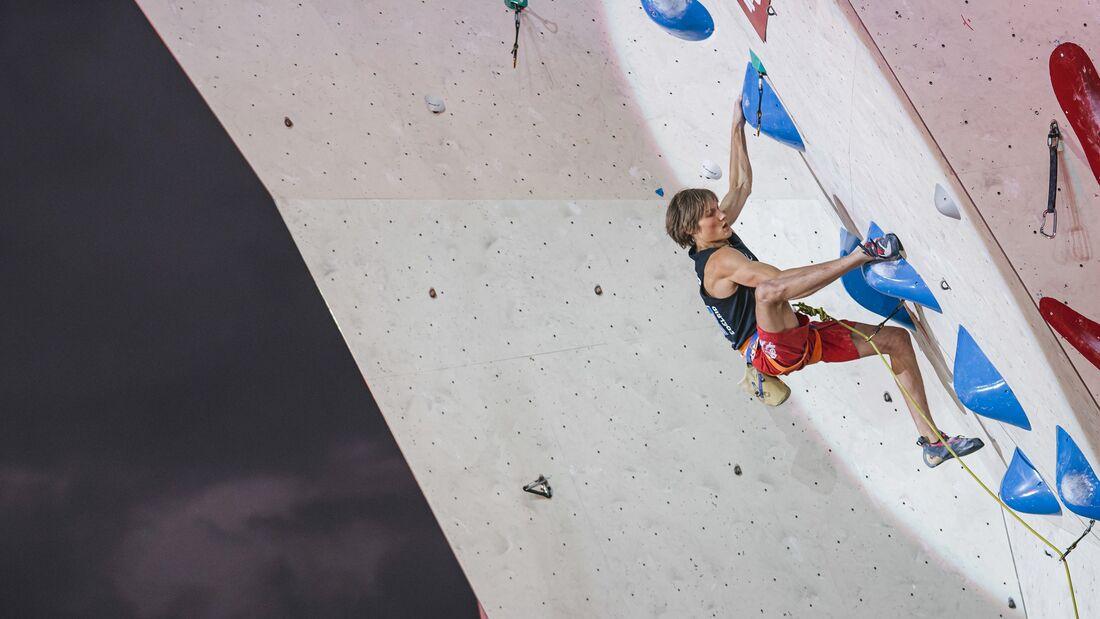 Olympia in Tokio: Kletterer