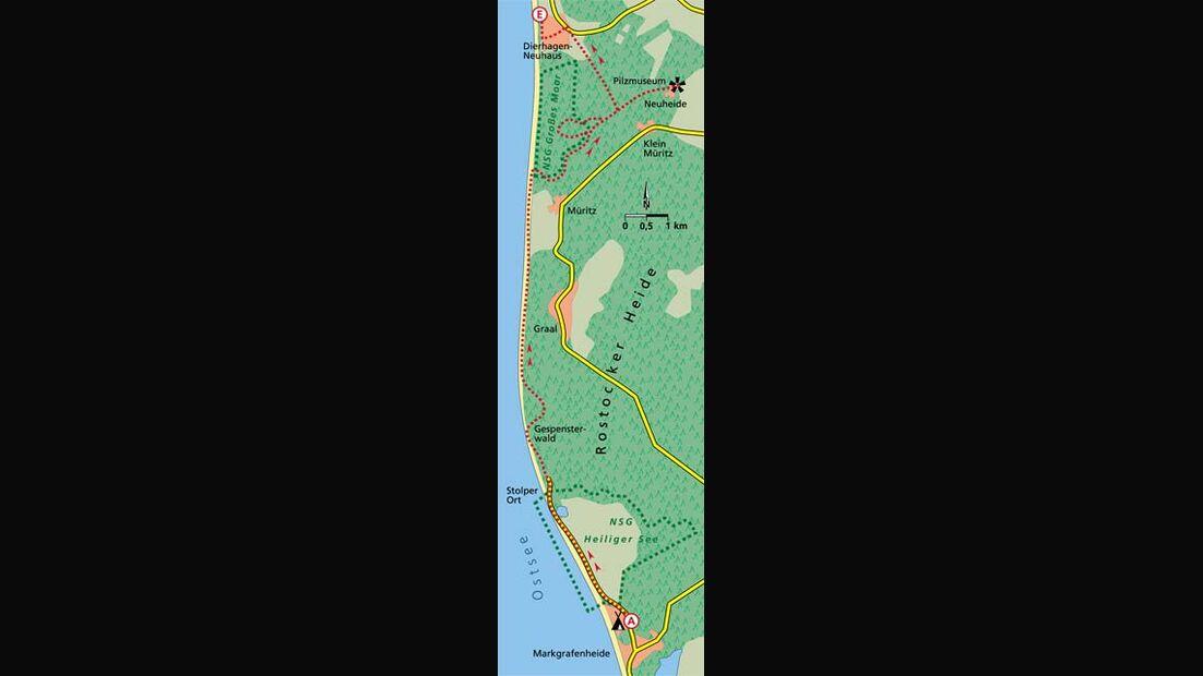 Ostsee Tour 1 Karte
