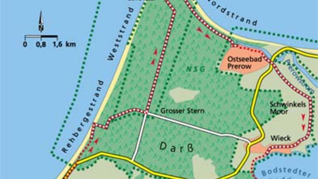 Ostsee Tour 2 Karte