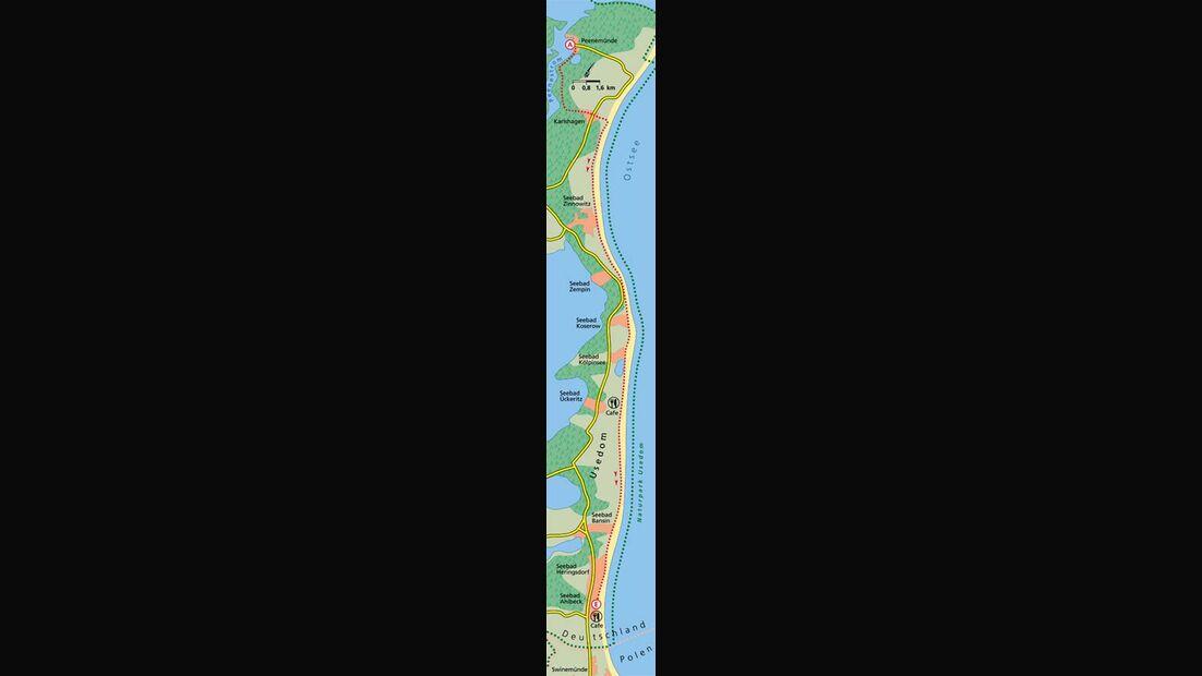 Ostsee Tour 4 Karte