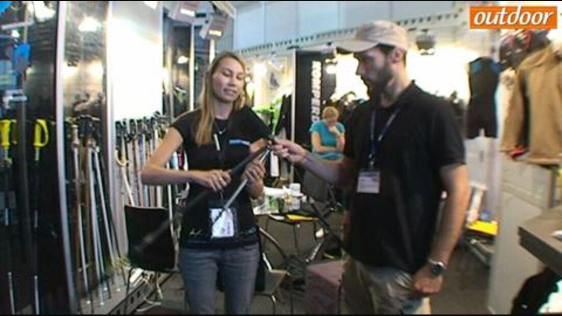 OutDoor 2011: Komperdell Approach Trekkingstöcke