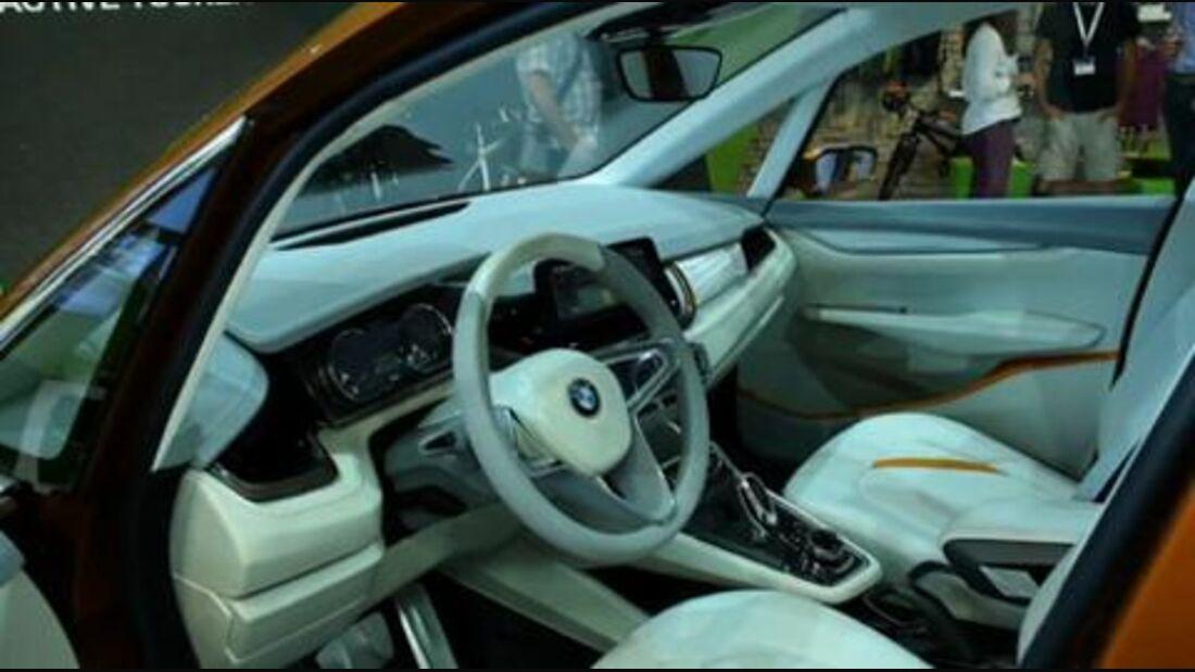OutDoor 2013: BMW Concept Active Tourer Outdoor