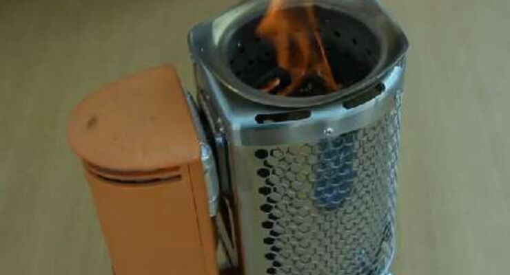 OutDoor 2013: Biolite Stove