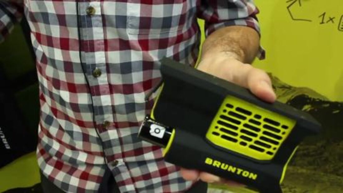 OutDoor 2013: Brunton Hydrogen Reactor