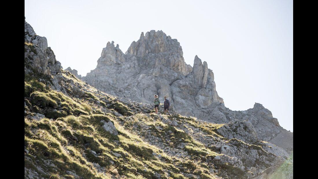 Outdoor-Destination Dolomiten