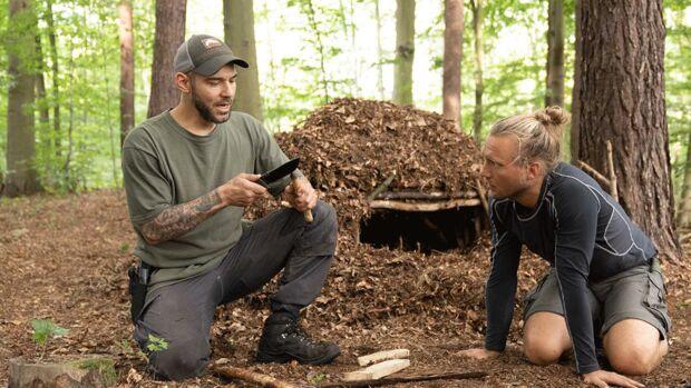 Outdoor Survival-Training mit Maurice Ressel