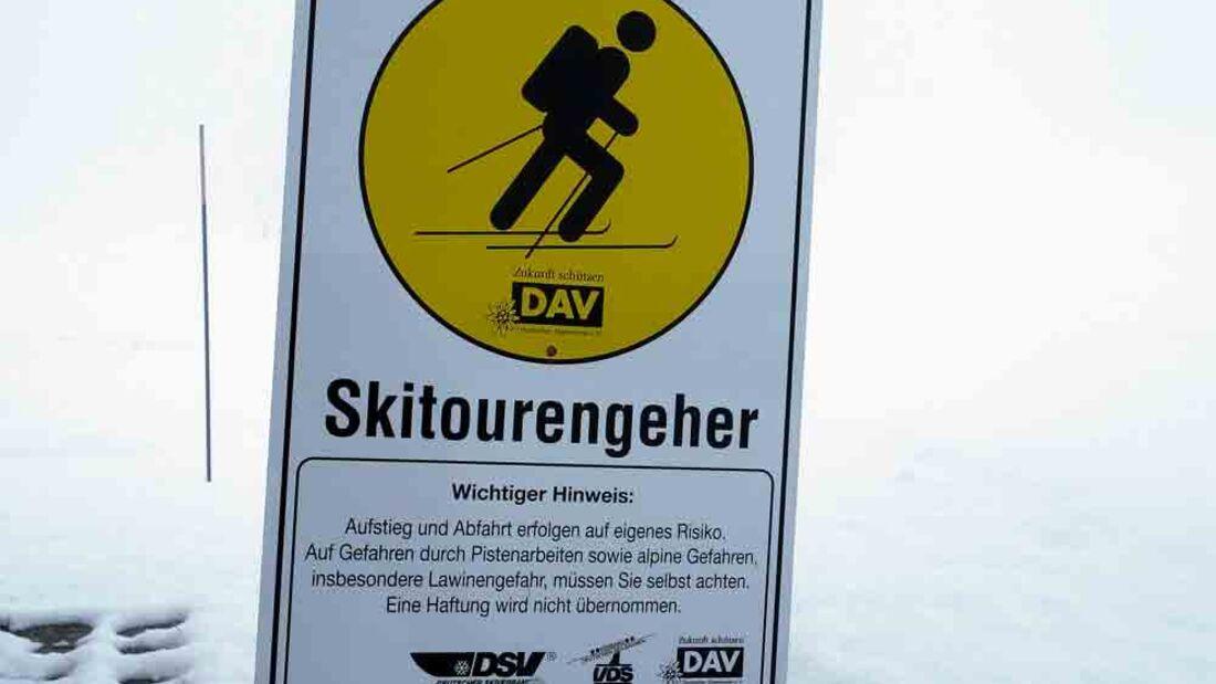 PS 2014 Skitourenspecial Pistentouren Sudelfeld