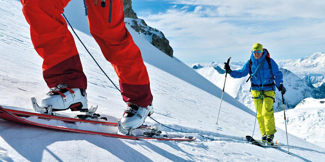 PS 2014 Skitourenspecial Test Text Aufmacher Teaser Tourenski Bindungen Skistiefel
