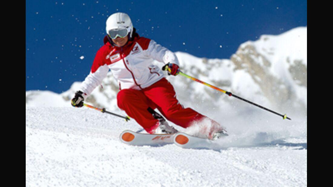 PS DSV aktiv 0413 Fahrtechnik erster Skitag