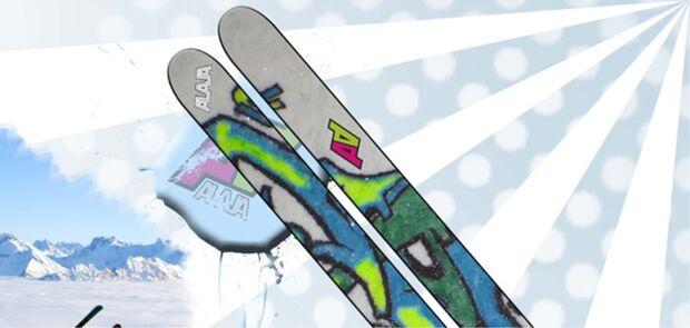 PS ISPO Brand New Awards 2010/2011 Designfolie für Skier