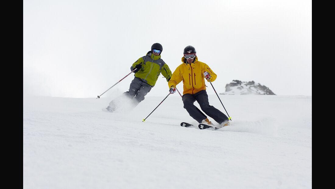 PS Ski-Fahrer Ski piste DSV Themendienst