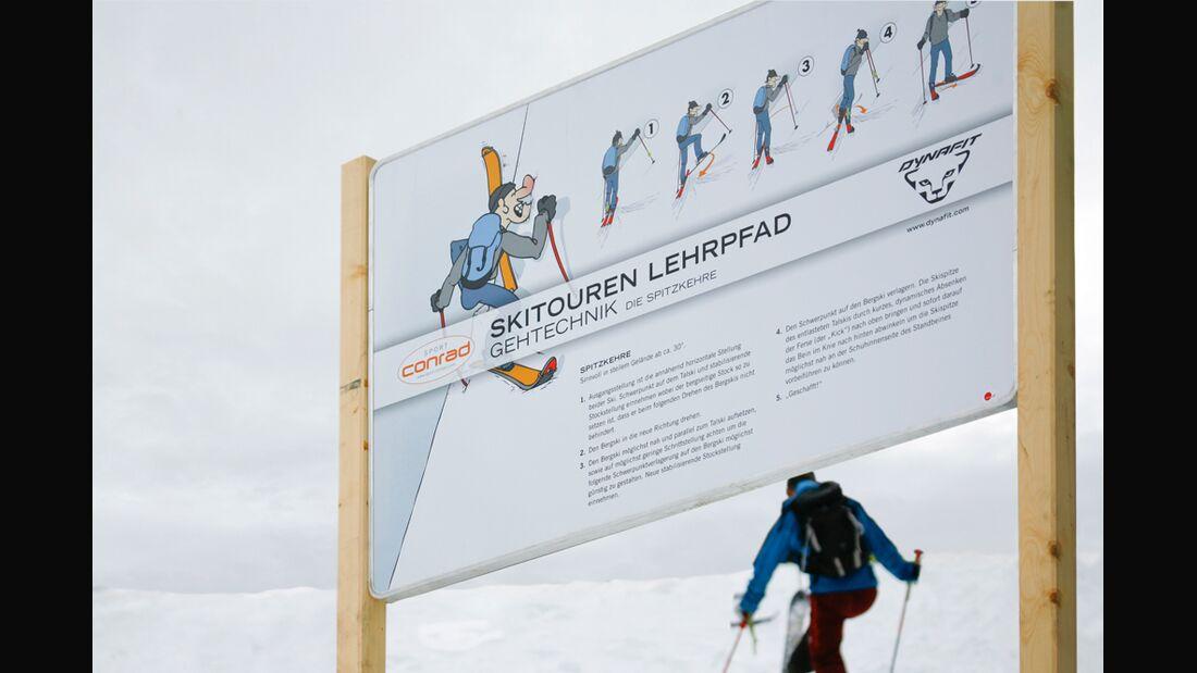 PS Skitourenpark Spitzkehre