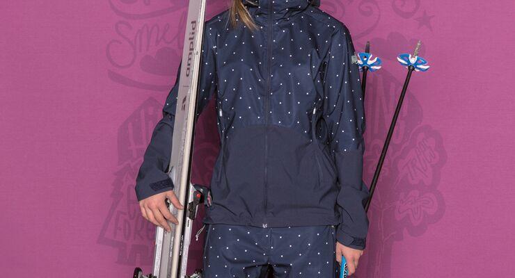 Herren Ski Latzhose MERINO Colmar mit Futter aus Graphen G+