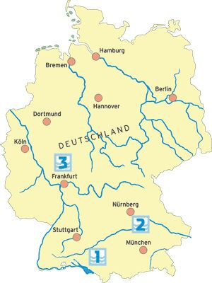 Paddeltouren in Deutschland (1)