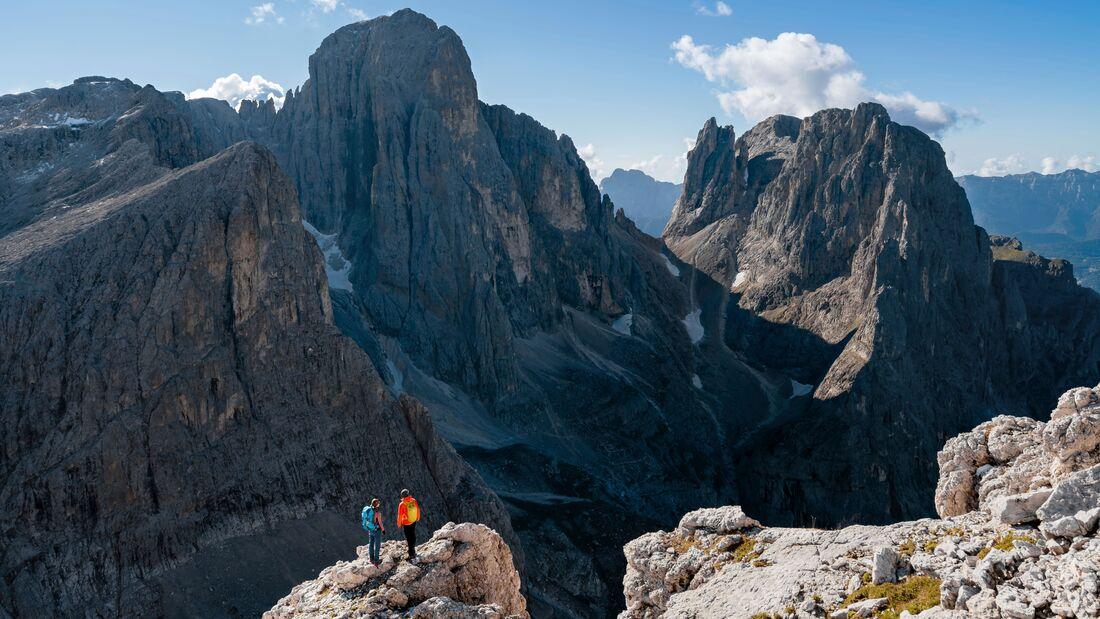 Paloranda-Trek, Pala-Dolomiten, Trentino
