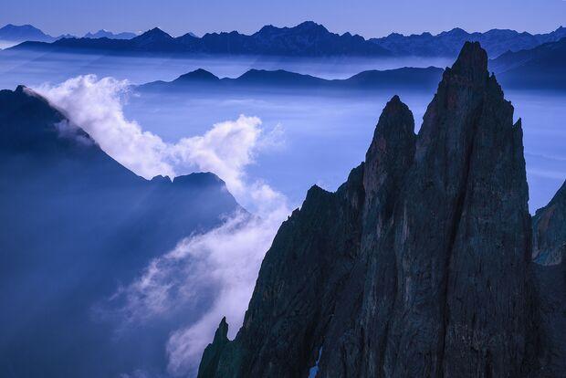 Petit Clocher du Portalet Mont Blanc