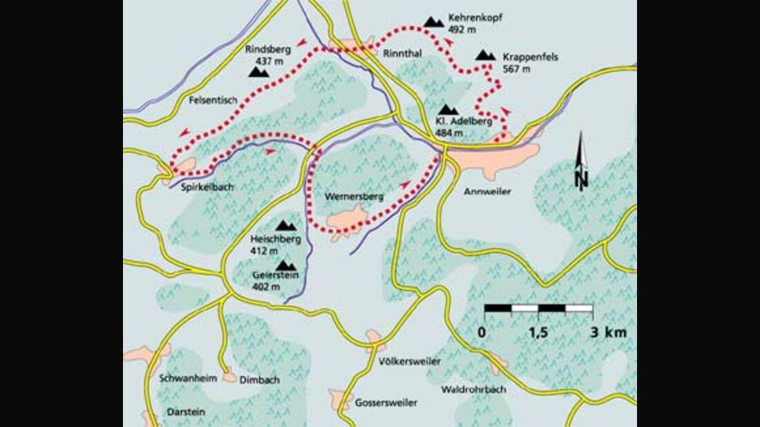Pfalz Tour 2 Karte